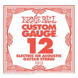 Struna Ernie Ball 0.12 Pojedyncza EB1012