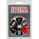 Kostki Gitarowe - zestaw, Nirvana