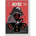 Kostki Gitarowe - zestaw, AC/DC