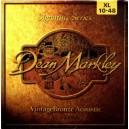 Struny Dean Markley Ak.10-48 Vintage Bronze 2008